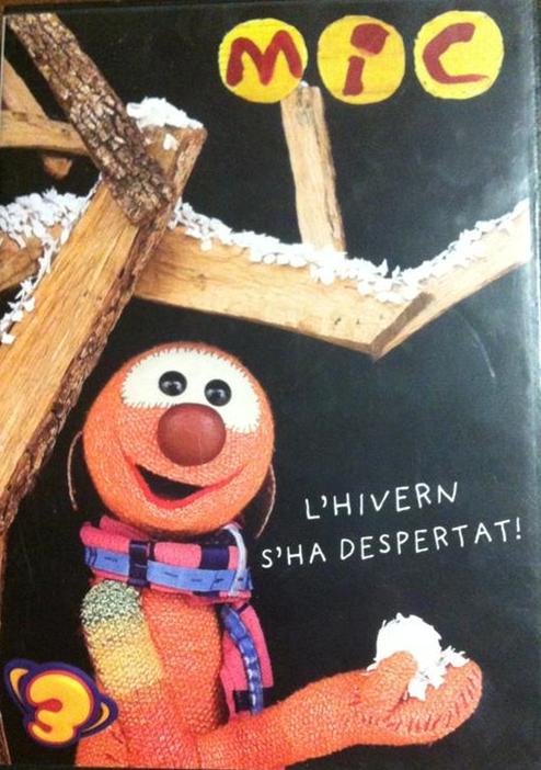 Imatge del cartell de la pel·lícula infantil Mic. L'hivern s'ha despertat!