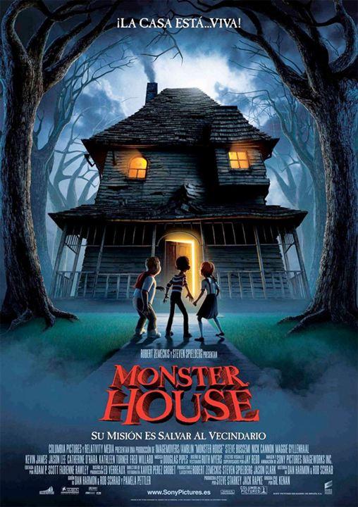 Imatge del cartell de la pel·lícula infantil Monster house