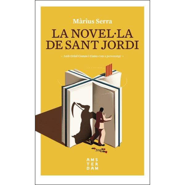 Imatge de la portada de la novel·la La novel·la de Sant Jordi