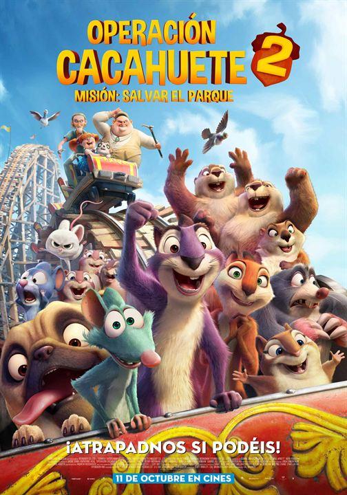 Imatge del cartell de la pel·lícula infantil Operación cacahuete 2