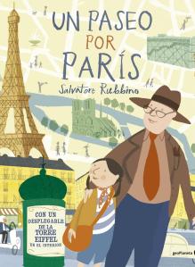 Imatge de la portada del llibre infantil Un paseo por París