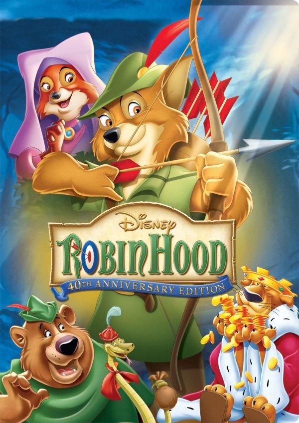 Imatge del cartell de la pel·lícula infantil Robin Hood