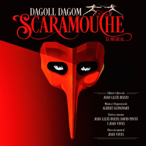 "Portada del CD ""Scaramouche"" de Dagoll Dagom"