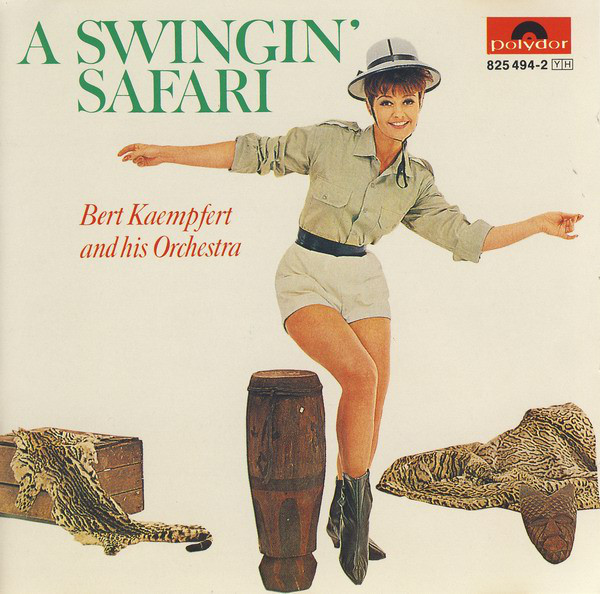 "Portada del CD ""A swingin' safari"" de Bert Kaempfert and his Orchestra"