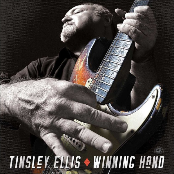 "Portada del CD ""Winning hand"" de Tinsley Ellis"