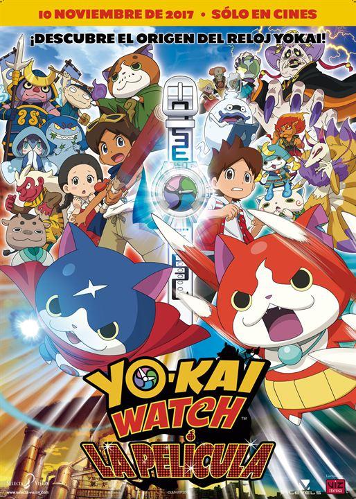 Imatge del cartell de la pel·lícula infantil Yo-Kai watch