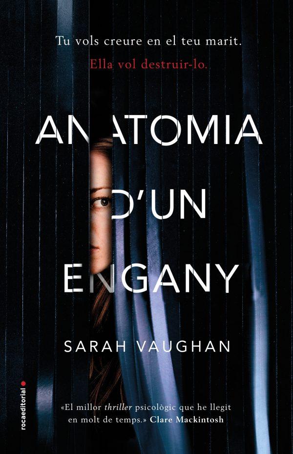 Portada de la novel·la Anatomia d'un engany