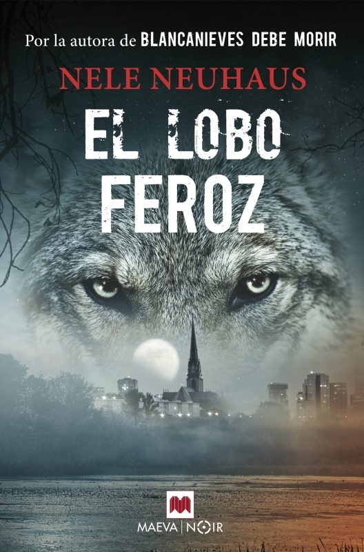 Portada de la novel·la El lobo feroz