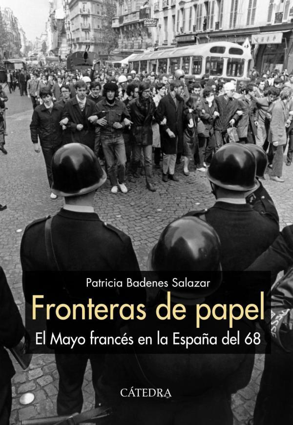 Portada del llibre Fronteras de papel El mayo francés en la España del 68