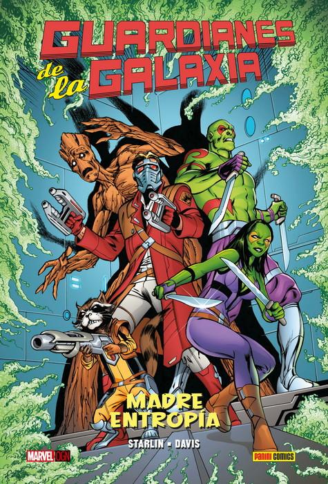 Portada del còmic Guardianes de la Galaxia MADRE ENTROPIA