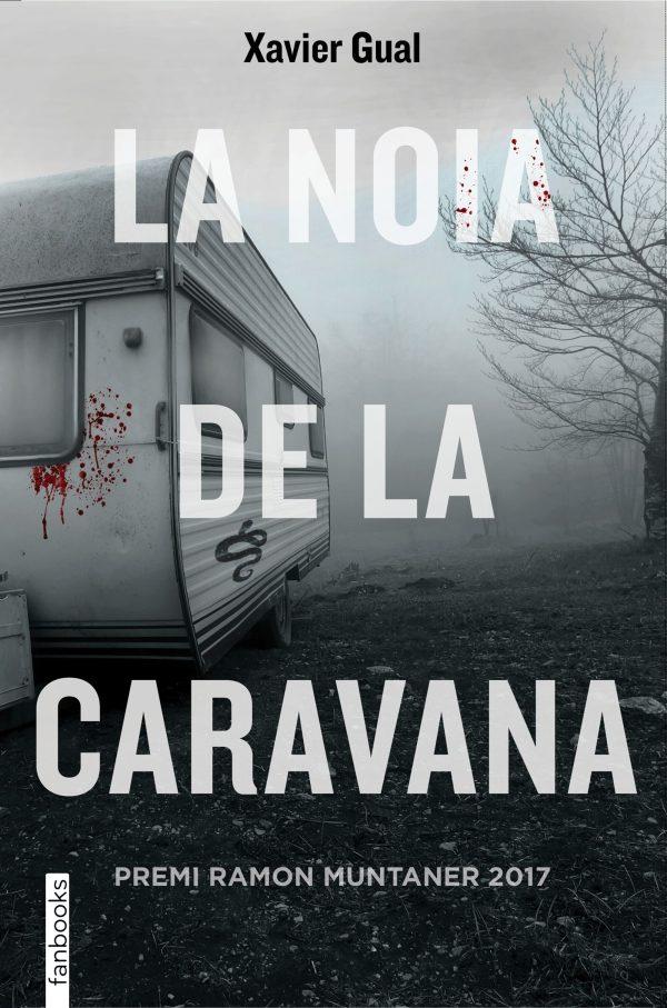 Portada de la novel·la La noia de la caravana