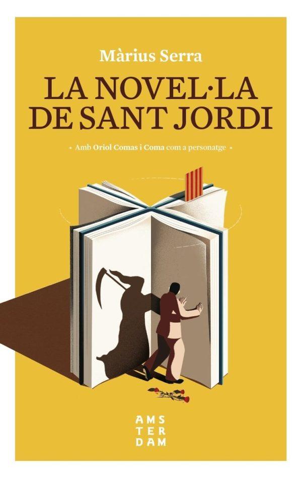 Portada de la novel·la La novel·la de Sant Jordi
