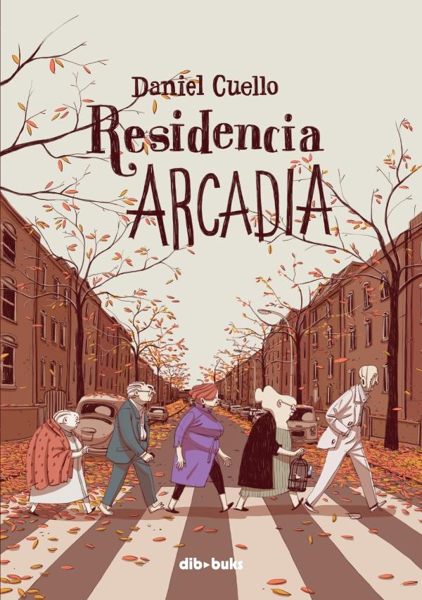 Portada del còmic Residencia Arcadia