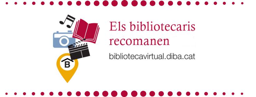 Imatge amb el text els bibliotecaris recomanen