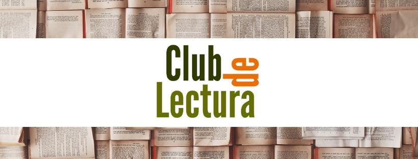 Imatge amb llibres i el logo del Club de lectura