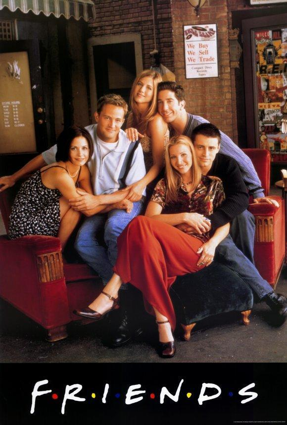 Cartell de la sèrie Friends