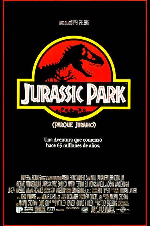 Cartell de la pel·lícula Jurassic Park