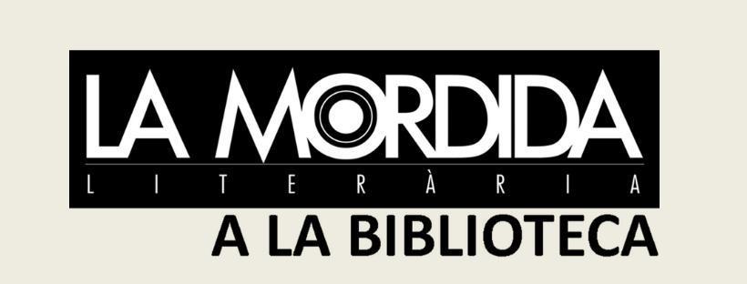 Imatge amb el text La Mordida a la biblioteca