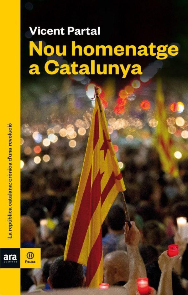 Portada del llibre Nou homenatge a Catalunya