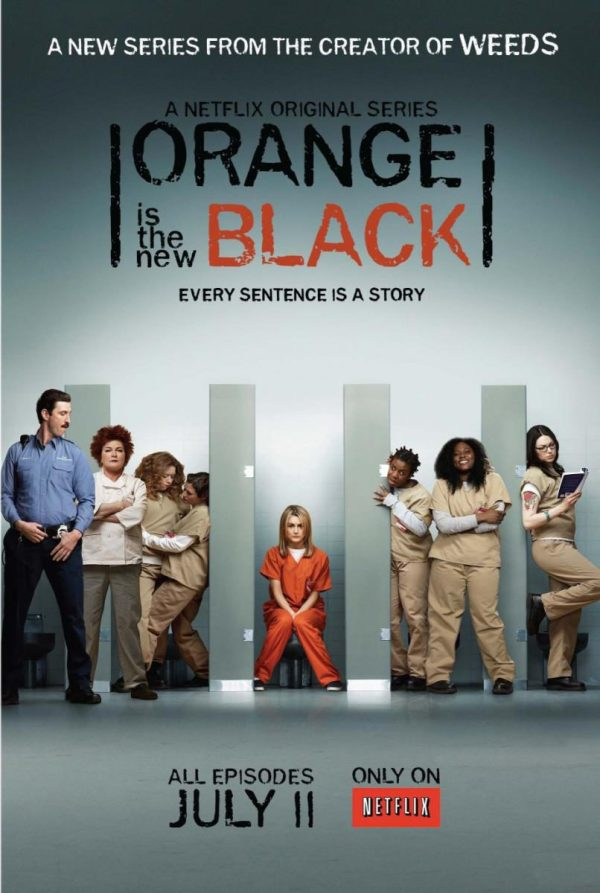 Cartell de la sèrie Orange is the new black