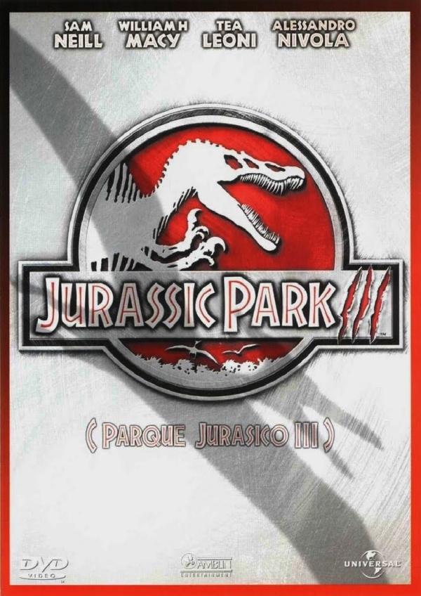 Cartell de la pel·lícula Jurassic Park 3