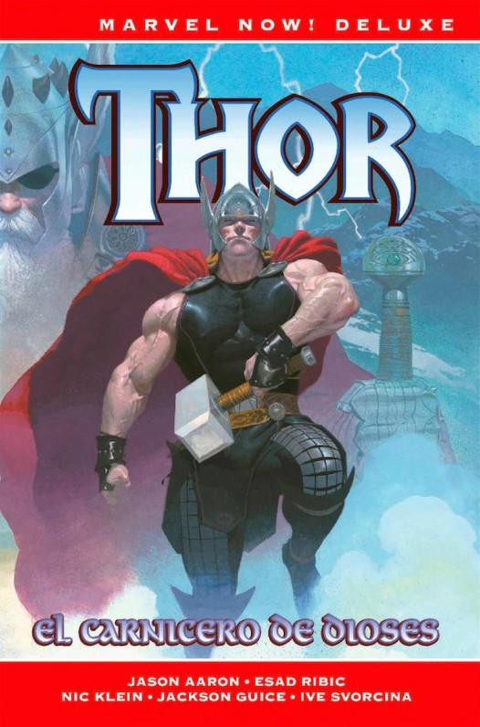 Portada del llibre Thor el carnicero de dioses