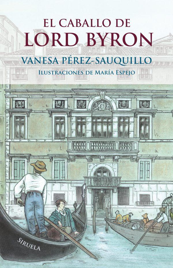 Imatge de la portada de la novel·la juvenil El caballo de Lord Byron