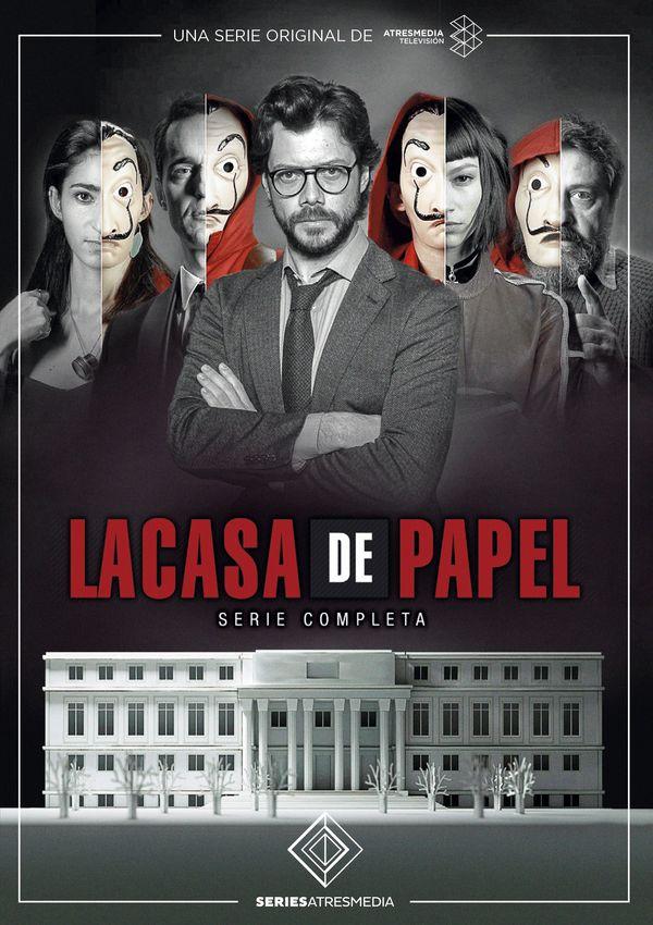 Imatge del cartell de la sèrie La casa de papel