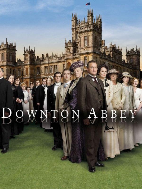 Imatge del cartell de la sèrie Downton Abbey