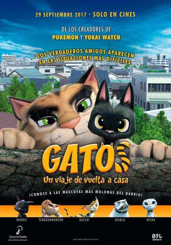 Imatge del cartell de la pel·lícula Gatos. Un viaje de vuelta a casa