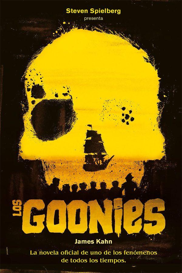 Imatge de la portada de la novel·la juvenil Los Goonies