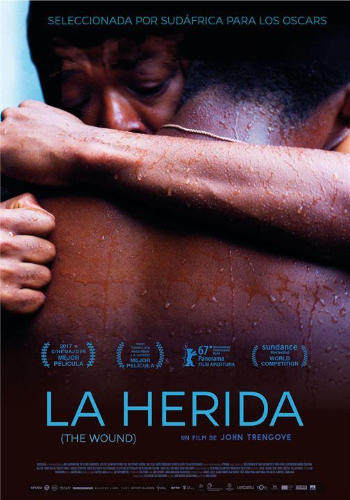 Imatge del cartell de la pel·lícula La herida