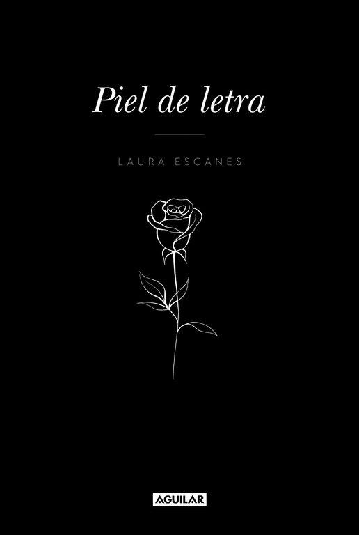 Imatge de la portada de la novel·la Piel de letra