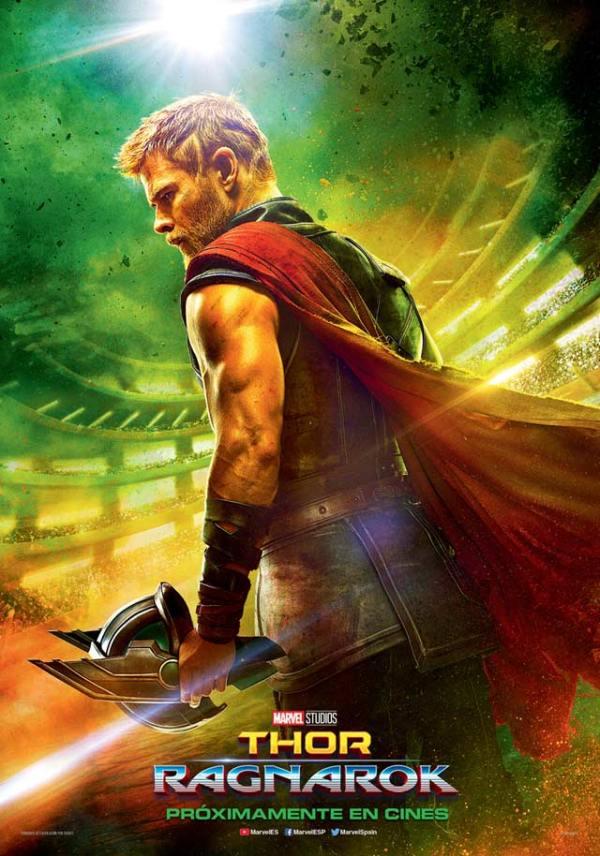Imatge del cartell de la pel·lícula Thor Ragnarok