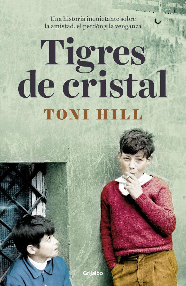 Imatge de la portada de la novel·la Tigres de cristal