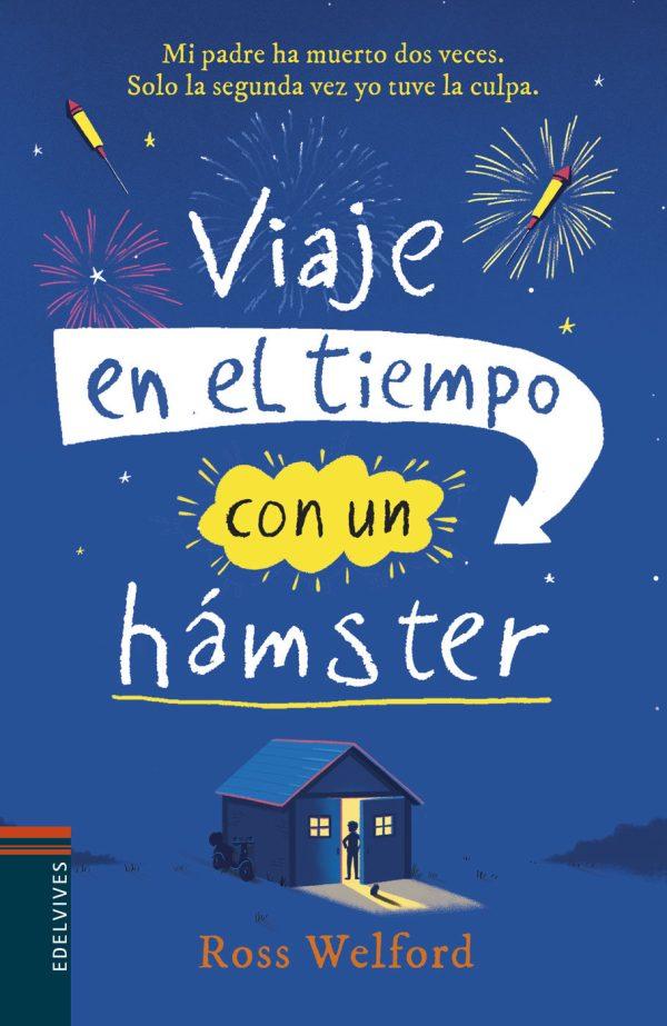Imatge de la portada de la novel·la juvenil Viaje en el tiempo con un hamster
