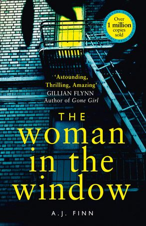 Imatge de la portada de la novel·la The woman in the window