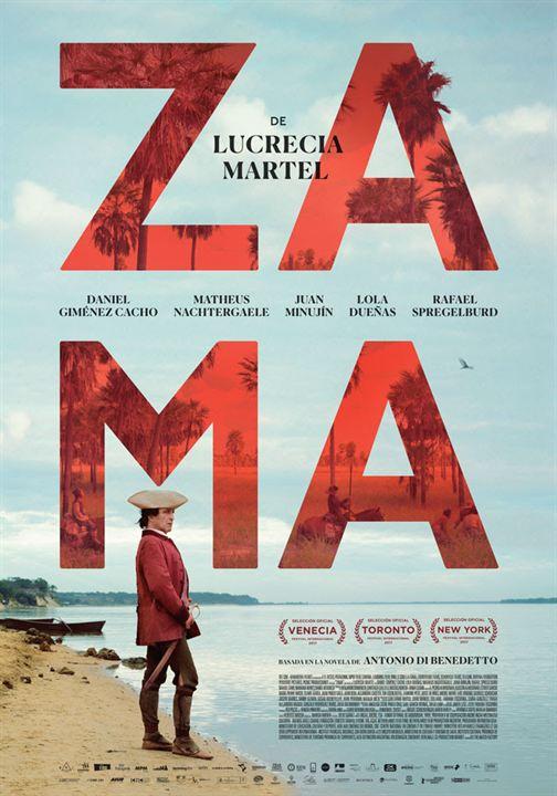 Imatge del cartell de la pel·lícula Zama