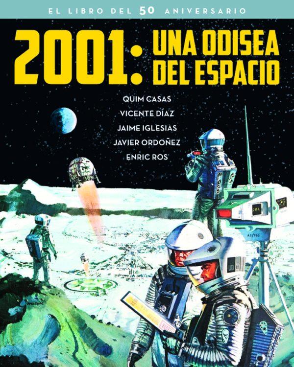 Portada del llibre 2001: una odisea del espacio, el libro del 50 aniversario