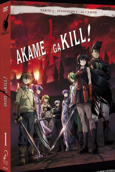 Imatge del cartell de la pel·lícula Akame Ga Kill