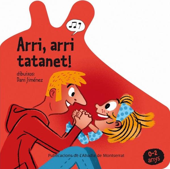 Portada del llibre infantil Arri, arri tatanet! de Dani Jiménez