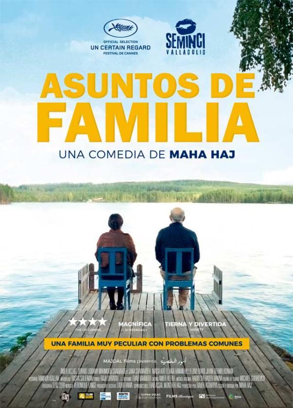 Imatge del cartell de la pel·lícula Asuntos de familia