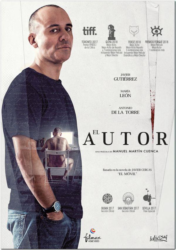 Imatge del cartell de la pel·lícula El autor