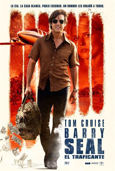 Imatge del cartell de la pel·lícula Barry Seal, el traficante