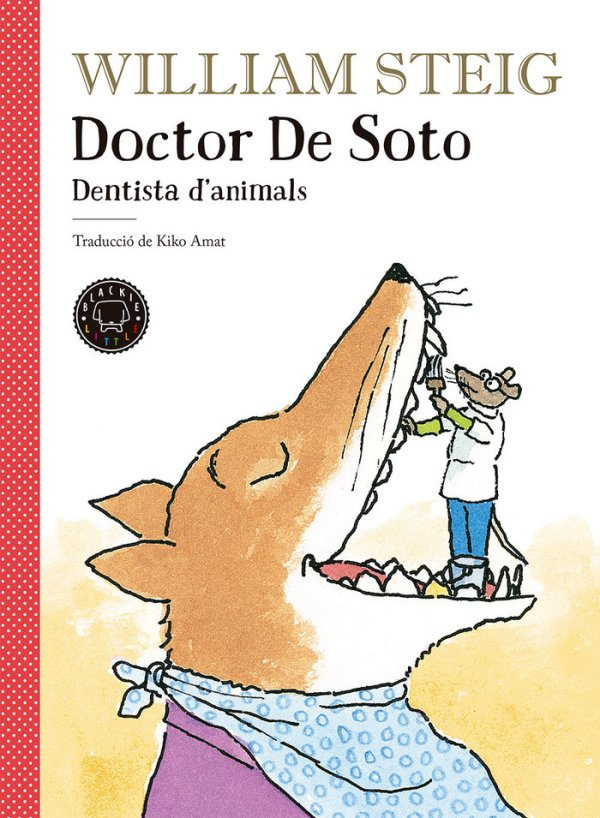Portada del llibre infantil Doctor de Soto dentista d'animals de William Steig