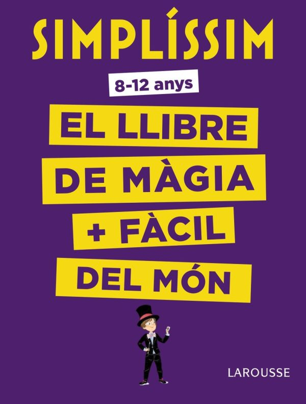 Portada del llibre infantil El llibre de màgia + fàcil del món