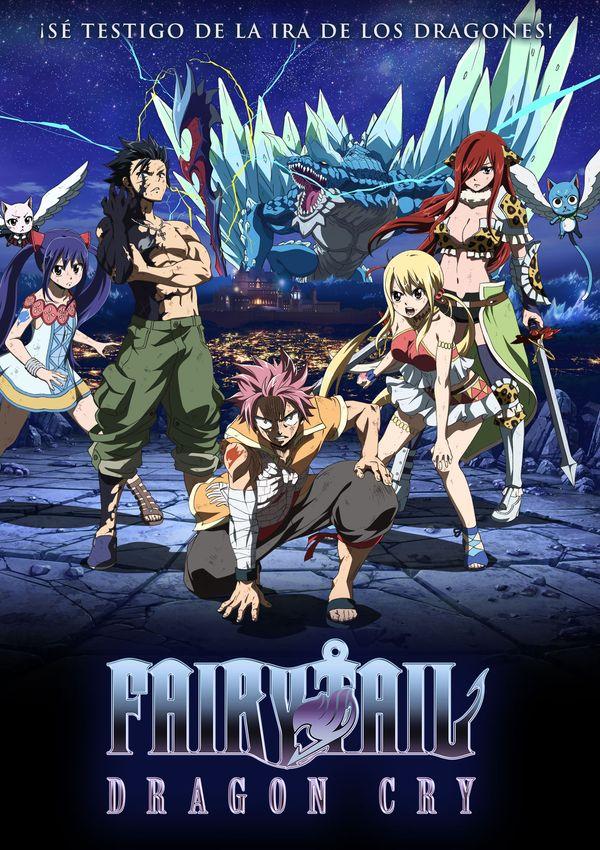 Imatge del cartell de la pel·lícula Fairy Tail Dragon Cry