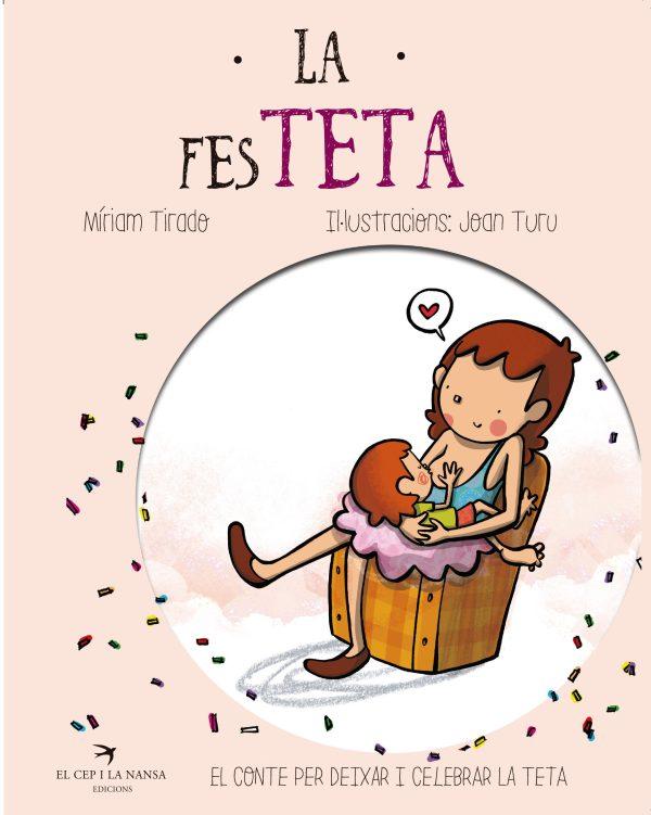 Portada del llibre infantil La festeta de Míriam Tirado