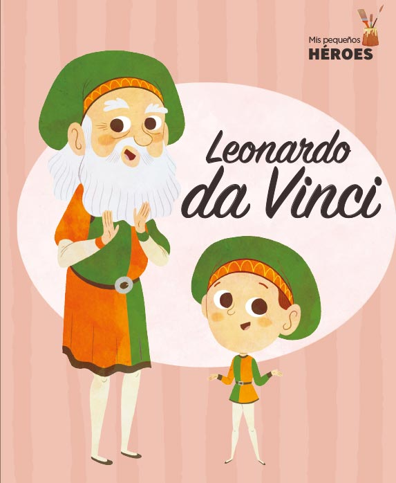 Portada del llibre infantil Leonardo da Vinci de Javier Alonso