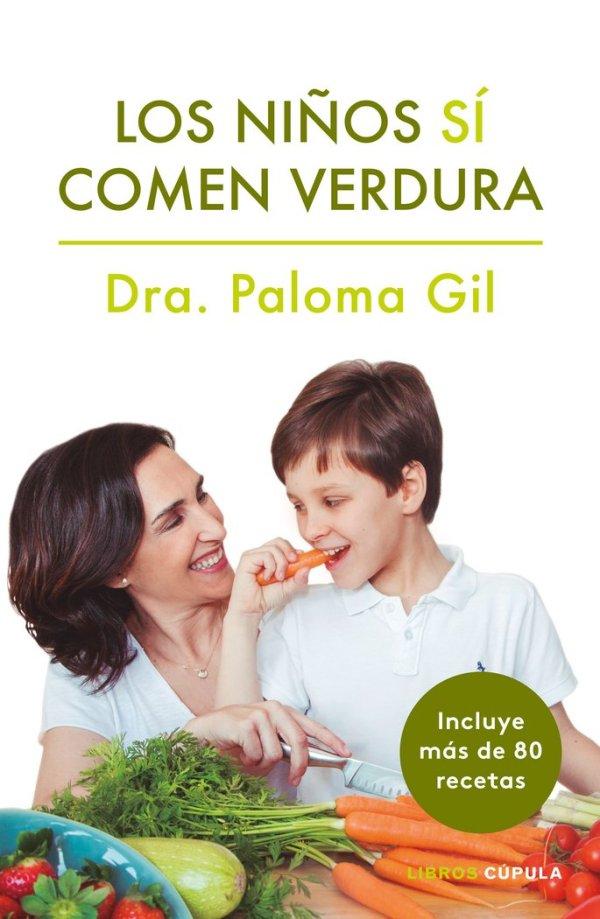 Portada del llibre Los niños sí comen verdura de Paloma Gil